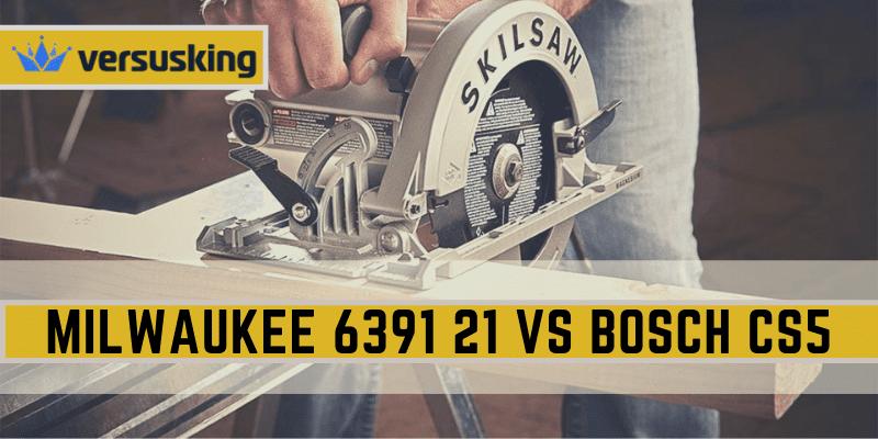 Milwaukee 6391-21 Vs Bosch CS5